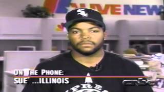 Ice Cube interviewed on CNBC during the early 90's