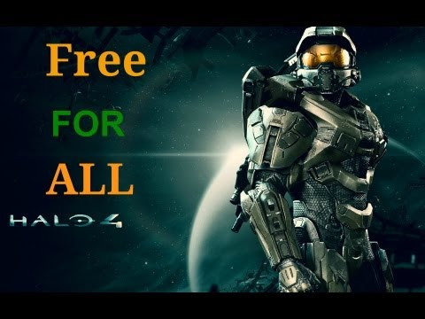 Halo 4 - Free For All Beastin LIVE!