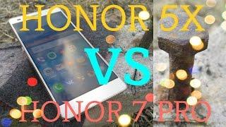 Huawei Honor 5X vs Honor 7 Premium - большое подробное сравнение. Тест камер Honor 5X и Honor 7 Pro
