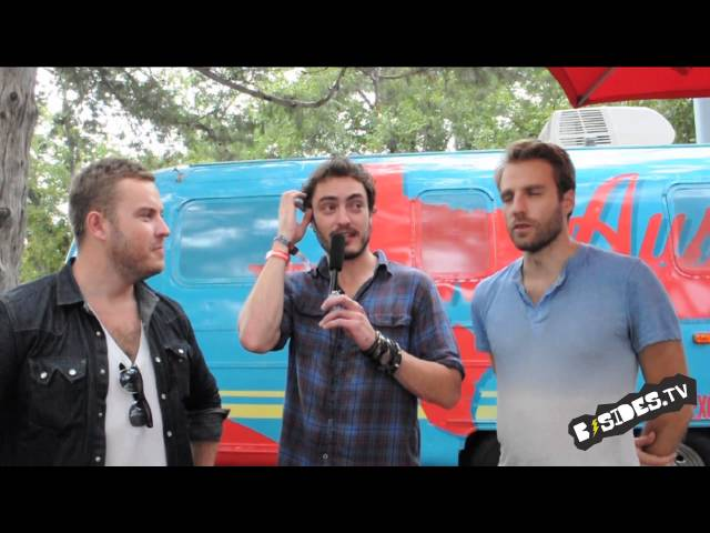 Civil Twilight Interview At ACL 2012 w/B-Sides.TV