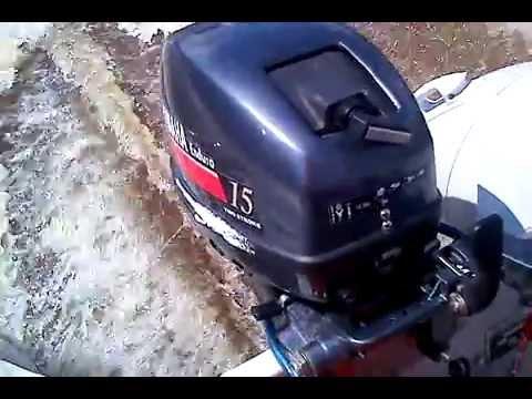 лодочные моторы ямаха 15-отзывы владельцев