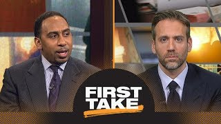 Stephen A. and Max debate biggest surprise of NBA season so far | First Take | ESPN