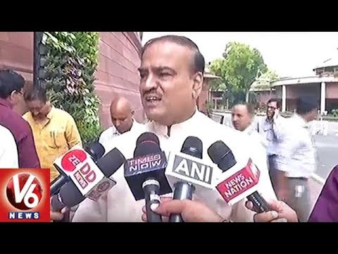 Sonia Gandhi Poor In Mathematics, Says Minister Ananth Kumar | No Confidence Motion | V6 News