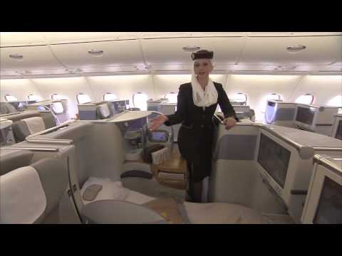 Emirates A380: On Board Cabin Tour A380