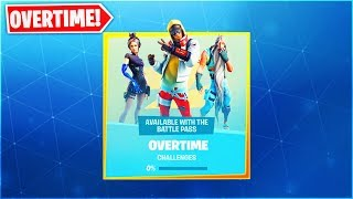 """How To GET """"FREE OVERTIME ITEMS"""" In Fortnite! NEW! SEASON 9 OVERTIME CHALLENGES/ REWARDS!"""