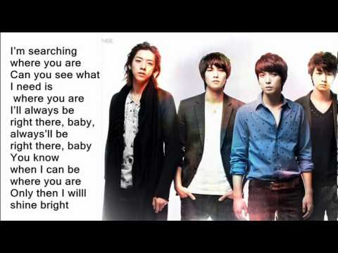 Cn Blue - Where You Are (with Lyrics On Screen) + Ringtone video