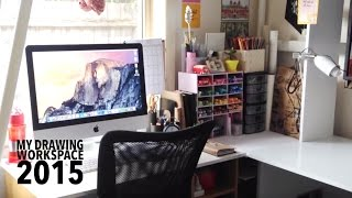 My Drawing Workspace Tour 2015