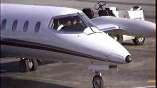 Learjet 25 Startup, Taxi and Takeoff
