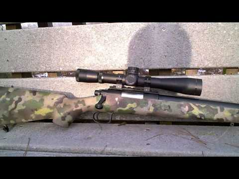 JG BAR-10 Airsoft Sniper Shooting at 50 Yards