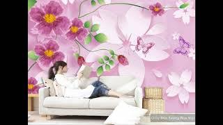 12 Mẫu Giấy dán tường phòng ngủ đẹp