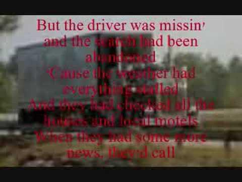 Roll On (Eighteen Wheeler) - Alabama - Lyrics