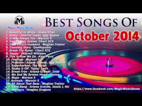 Hot Songs Of October 2014 | Best Songs Of Octorber 2014 - English Playlist video