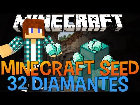 Minecraft Seed 1.5.2 32 DIAMANTES