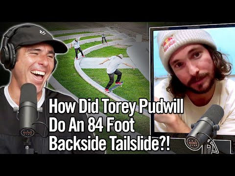 Torey Pudwill Did The Longest Backside Tailslide EVER!!! 84 Feet!