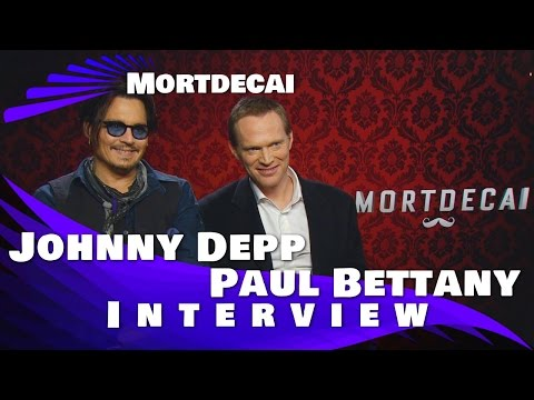 Mortdecai - Johnny Depp - Paul Bettany - Canadian Exclusive Interview