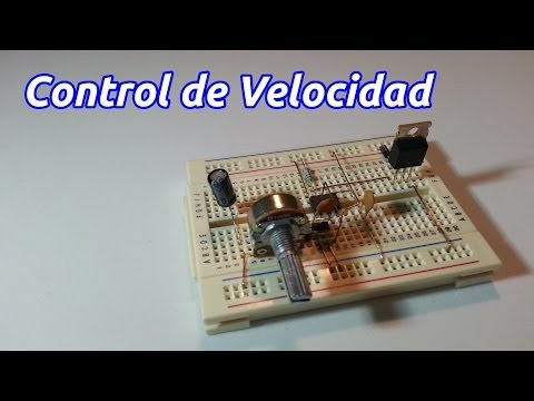 Control de Velocidad para Motor Eléctrico por Modulación de Amplitud de Pulsos o PWM