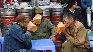 Tai nạn hy hữu khi đang ngồi uống bia !!