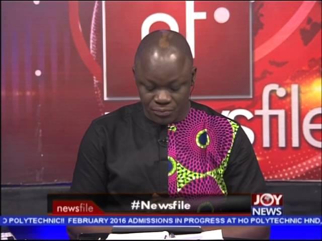 Newsfile Intro on Joy News (13-2-16)