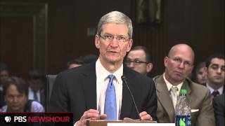 Apple CEO Tim Cook at Senate Hearings (part 2)