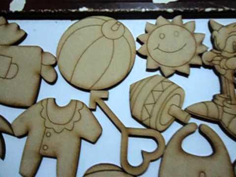 Figuras de mdf ideales para tus manualidades youtube - Cosas de madera para hacer ...