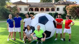 GIANT FOOTBALL CHALLENGE ft Gianmarco Zagato, Valentina Lattanzio, PIT
