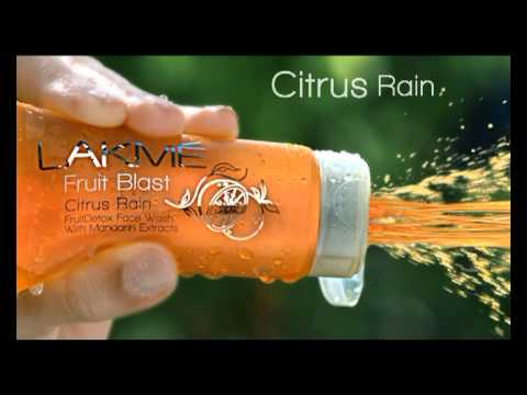 Lakme Fruit FaceWash TVC Featruing Lisa Haydo...
