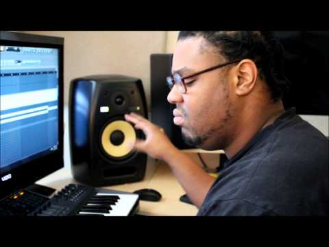 Creating a song from Start to Finish (beats,recording vocals, mixing) Live Footage 2013