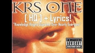RBG-KRS One| Ah Yeah (Uncensored) [ HQ ] + Lyrics!