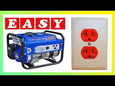 How To Hook Up A Generator To A House