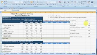 Forecasting Financial Statements - Part 1.mp4