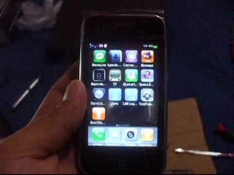 Cambio de pantalla touch de Hiphone F003