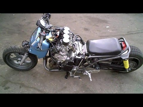 WORLDS FASTEST SCOOTER! Honda Ruckus Gy06 Scooter engine swap!