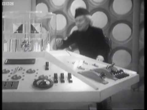 The Tardis takes off for first time - Doctor Who - An Unearthly Child - BBC
