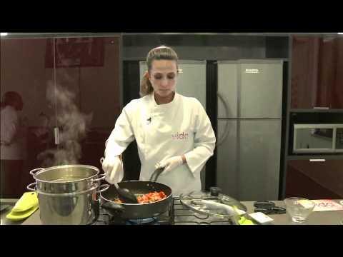 Vida Melhor - Culinária: Macarrão com frutos do mar (Cláudia Tenório)