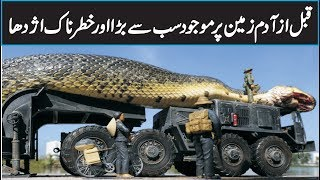 Titanoboa The World's BIGGEST Snake Ever In Urdu Hindi