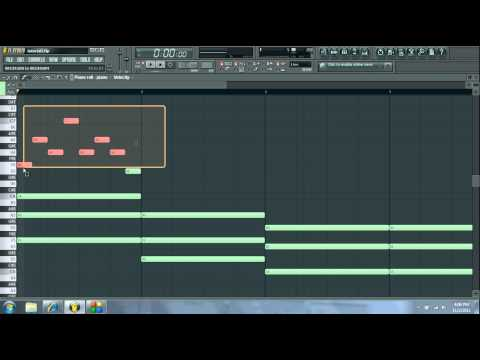 How To Make A Simple Hiphop Piano Beat Fl Studio Fruity Loops Beginner Tutorial video