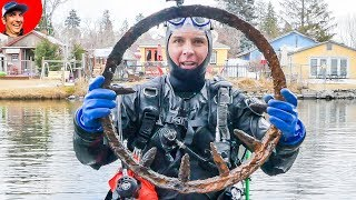 Guess What I Found Diving 37-Degree River for Lost Valuables?