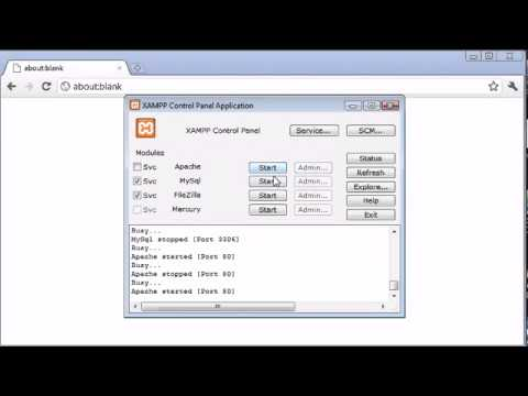 Beginner PHP Tutorial 3 Installing XAMPP Part 2 Learn Web development