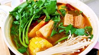 How to Cook Authentic Spicy Sichuan Hot Pot, CiCi Li - Asian Home Cooking Recipes