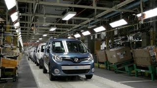 Renault Kangoo production at the Maubeuge Plant, France