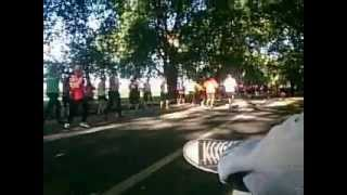 Hyde Park London marathon
