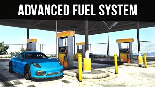 ADVANCED REAL FUEL SYSTEM (Cars, Planes & Helicopters) | GTA 5 PC Mods