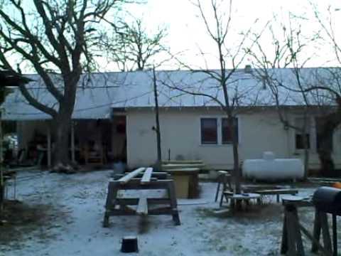 SNOW Day in San Antonio Texas