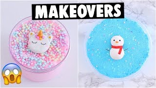 EXTREME SLIME SHOP MAKEOVERS *fixing my mystery slimes*
