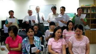 Hymn# 82: Down from His glory (hall 41 church in Taipei)