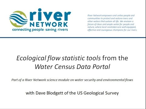 RN Science Module: Accessing Flow Data and Statistics from the USGS Water Census Portal