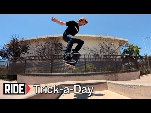 How-To Nollie Frontside 180 With Peter Raffin - Trick-a-Day