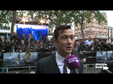 Joseph Gordon-Levitt interview - Dark Knight Rises London premiere - Officer John Blake