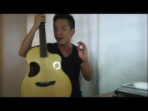 Mcpherson Guitar 4.0XP Port Oxford Cedar/Madagascar Rosewood Review in Singapore