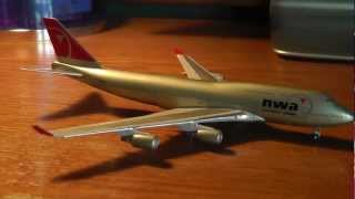Gemini Jets 1:400 Northwest Airlines Boeing 747-451 Unboxing/Review